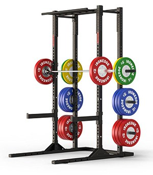 Assault Rack Pro with Storage from Iron Edge