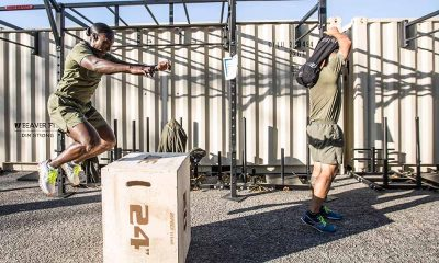 Box jump - U.S. Marine Corps training