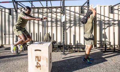 Box jump - U.S. Marine Corps training