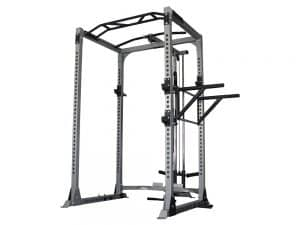 Force USA Power Rack with Lat Pulldown and Low Row Attachment from gymandfitness.com.au